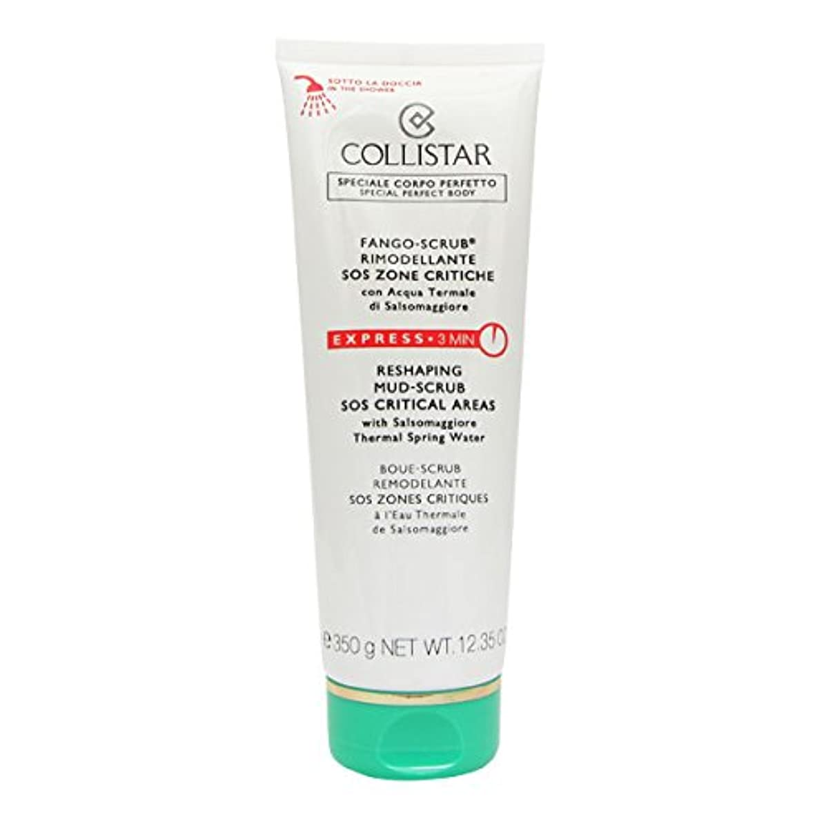 解釈的出演者四分円Collistar Reshaping Mud-scrub Sos Critical Areas 350g [並行輸入品]