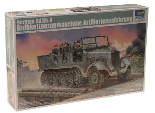 1/35 ドイツ軍 Sd.Kfz.6 5tハーフトラック 砲兵仕様