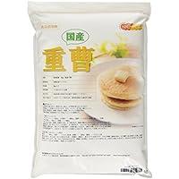 旭硝子製 重曹 5kg [02] (炭酸水素ナトリウム)食品添加物(食品用)国産重曹 NICHIGA(ニチガ)