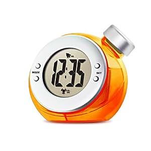 VERSOS ウォーター バッテリー アラーム クロック TIME H2O オレンジ VS-302