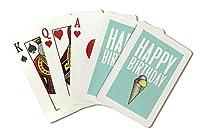 Happy誕生日–Breathless用紙Co。アートワーク( Playingカードデッキ–52カードPokerサイズwithジョーカー)