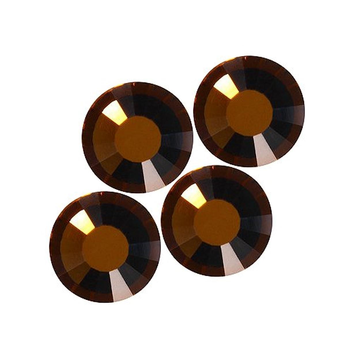 ウィスキー姪定義するバイナル DIAMOND RHINESTONE スモークトパーズ SS8 1440粒 ST-SS8-STP-10G