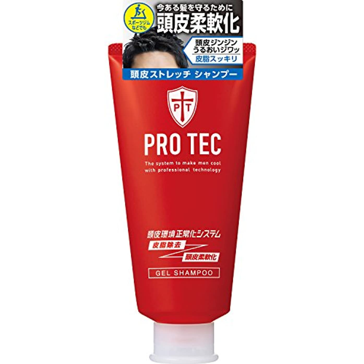 行商ジム日光PRO TEC(プロテク) 頭皮ストレッチ シャンプー チューブ 150g(医薬部外品)
