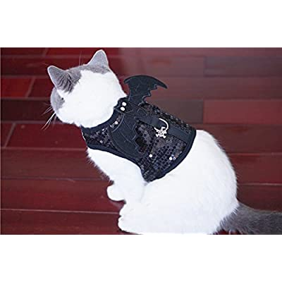 Cantaloupe【カンタロープ】猫用 小悪魔 ハーネス リード付 胴輪 ペット お出かけ お散歩