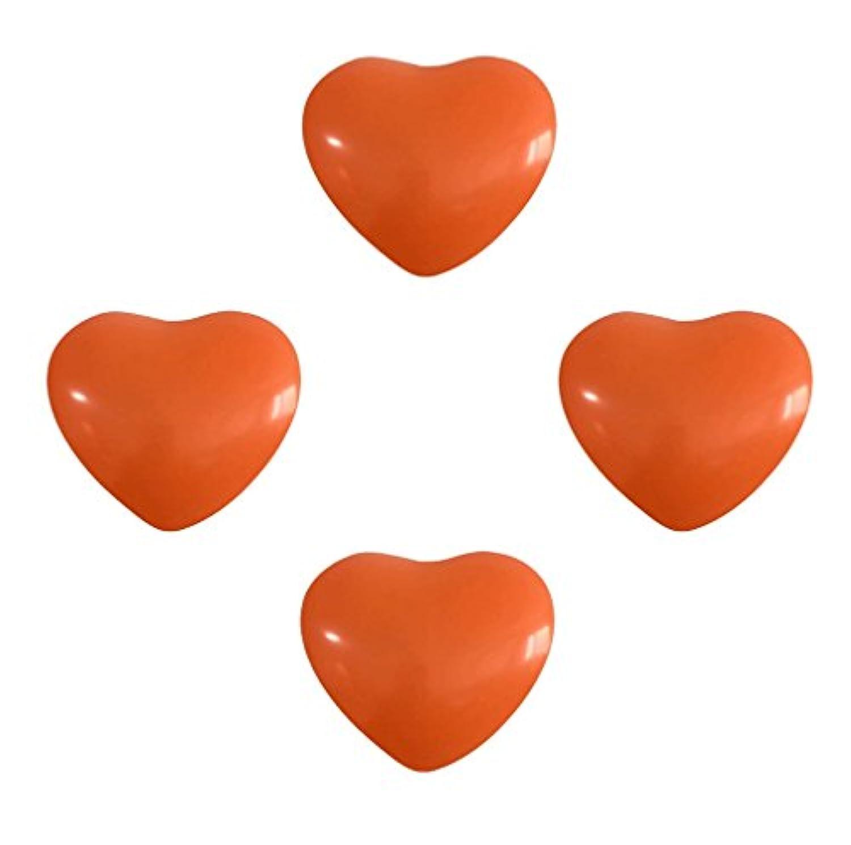 SSORA ハート型 バルーン ゴム風船 オレンジ イベント パーティー飾り 95個入り 2.2g 極厚風船