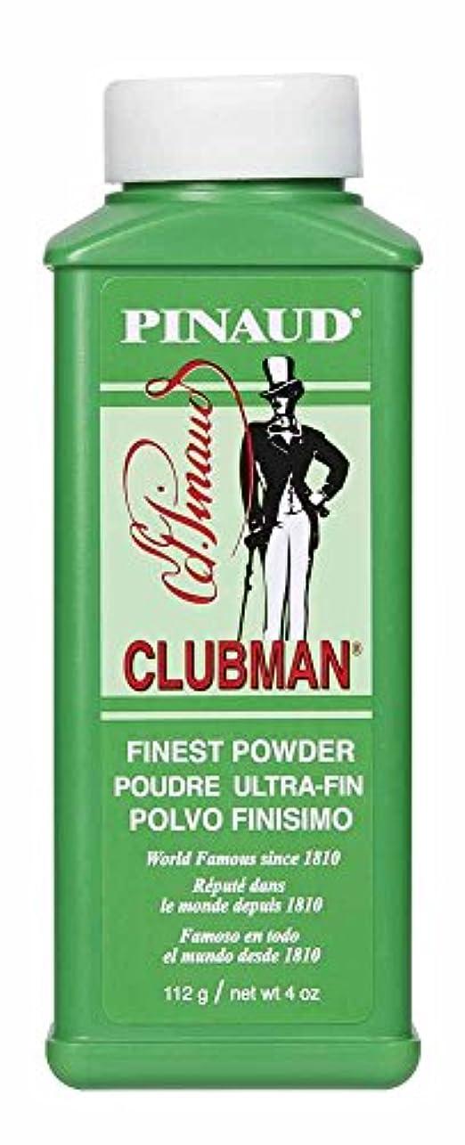 巻き取り精査するプレゼンターCLUBMAN Pinaud Finest Talc 4oz/112g by Clubman