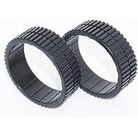 フロアモッピングロボット iRobot Braava 380j/371j compatible tires タイヤ/ラバー/トレッド/380t/320/321/375t/390t/Mint Plus 5200/4200/available/Cleaning Robot Tire/tyre/tyres/wheel/wheels/ルンバ//ホイール(1pack=2pcs)[海外直送品]