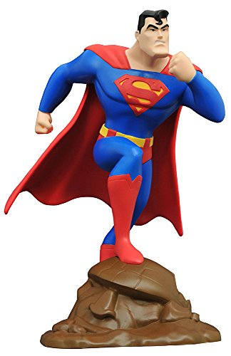 DCギャラリー スーパーマン アニメイテッドPVCスタチュー スーパーマン 高さ約23センチ プラスチック製 塗装済み 完成品フィギュア