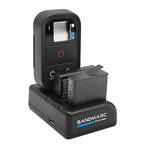 SANDMARC Procharge: GoPro HERO 5、4、およびリモート用トリプル充電器
