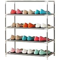 靴ラック多目的創造的な多層防塵靴ラック鋼管ストレージアセンブリシューズラック