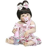 D DOLITY 赤ちゃんお世話セット リボーンドール 女の子 服付き 56cm