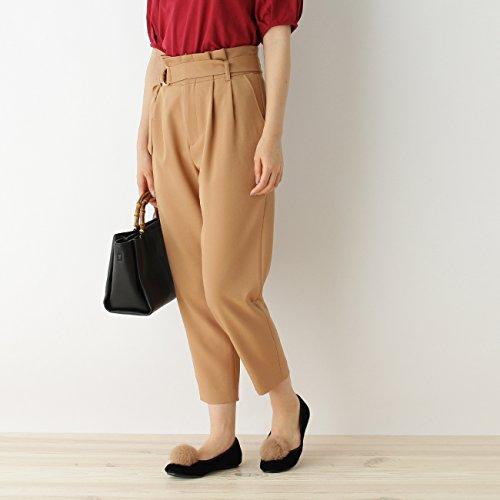(クチュールブローチ) Couture Brooch タックテーパードパンツ 50863252 40(L) ブラウン系(040)