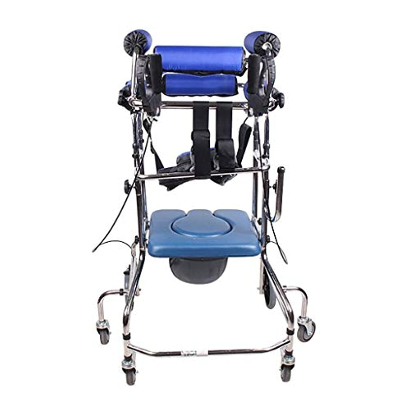 ドライアマチュアシットコム多機能下肢トレーニングウォーキングスタンド、調整可能な便器椅子