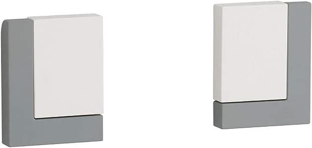 Belca キッチンペーパーホルダー FLAT in (1個あたり) 幅7.6×奥行1.75×高さ9.6cm ホワイト マグネット式 FK-PW