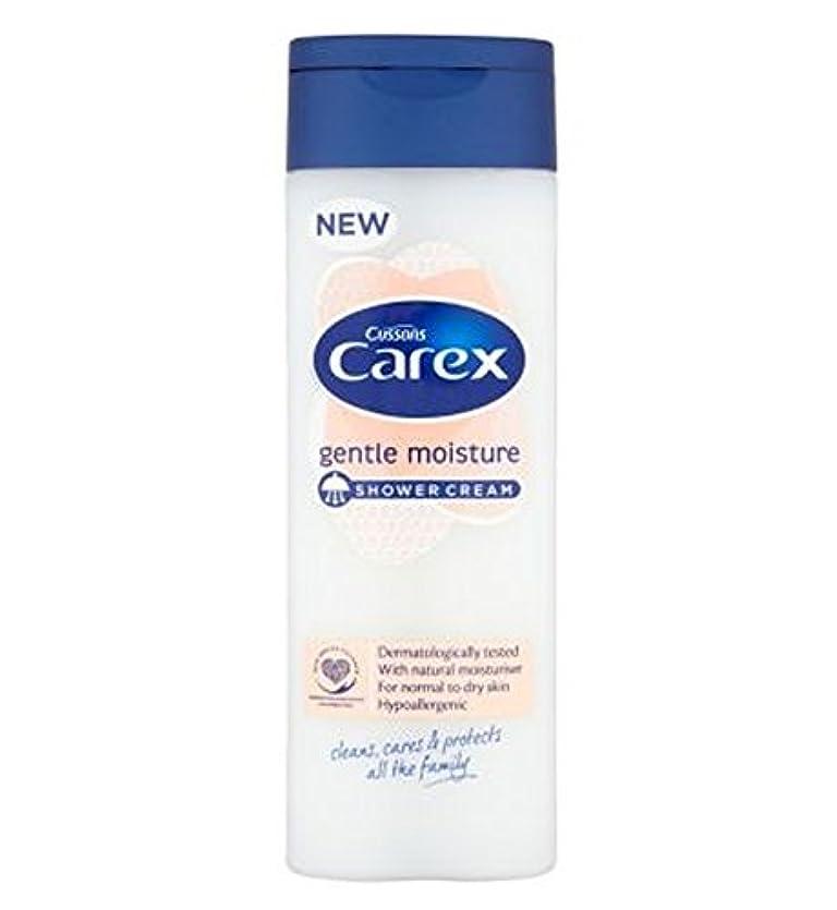寺院宇宙のプロペラスゲ属穏やかな水分シャワークリーム250ミリリットル (Carex) (x2) - Carex Gentle Moisture Shower Cream 250ml (Pack of 2) [並行輸入品]