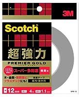 3M プレミアゴールド スーパー多用途 粗面用(SPR-12) 12×4m ケース20巻入り