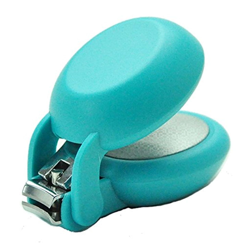 バナナ独立ミリメートル爪切り nail clipper (ネイルクリッパー) Nail+ (ネイルプラス) Blue (ブルー)