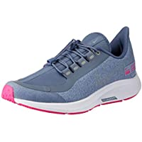 Nike Australia Girls Air Zoom Pegasus 35 Shield GS Fashion Shoes, Work Blue/Reflect Silver-Diffused Blue