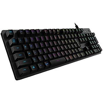 ゲーミングキーボード Logicool ロジクール G512-LN ブラック メカニカル リニア 高静音性 RGB 航空機グレードアルミ合金 FPS 国内正規品 2年間メーカー保証