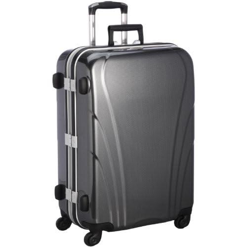 [プロナード] PRONARD ACE プロナード スペクトル スーツケース 63cm・65リットル・5.4kg 05466 01 (ブラックカーボン)