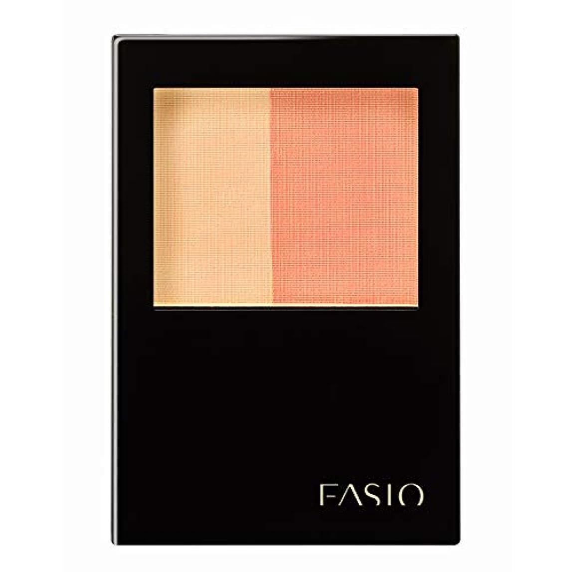 洗剤不正確対人ファシオ ウォータープルーフ チーク オレンジ系 OR-1 4.5g