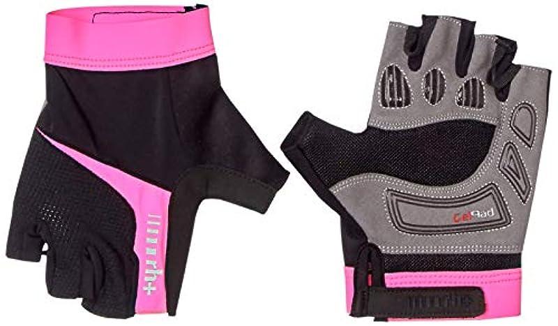 ペルー少ない掃く[アールエイチプラス] ECX9158 Prime Glove 986 Black-Fluo Pink S サイクルグローブ Black-Fluo EU S (日本サイズXS相当)