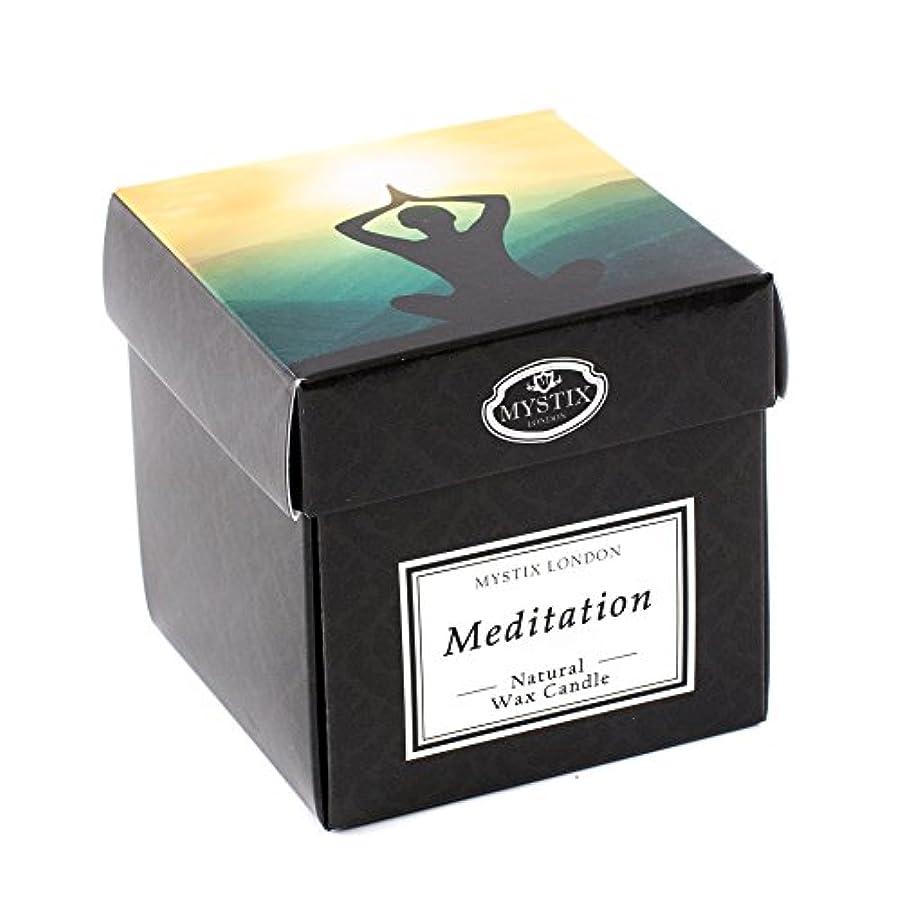 家族息を切らして損傷Mystix London   Meditation Scented Candle - Large