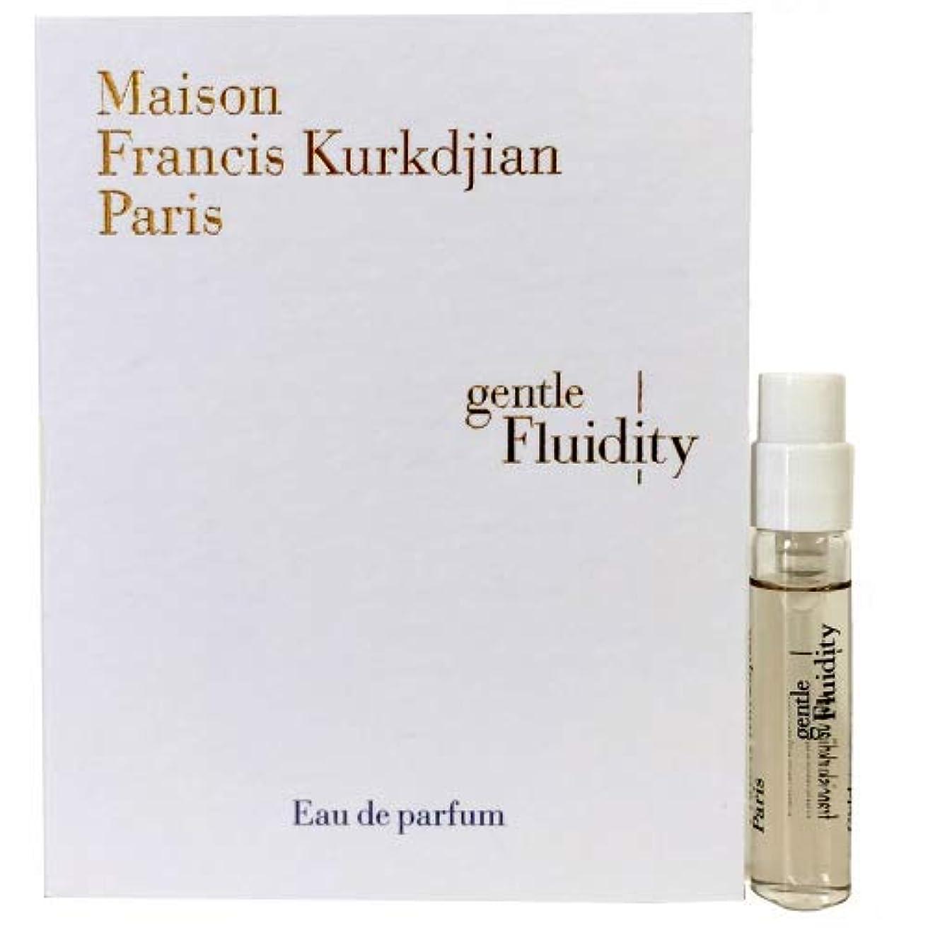 まばたき雄弁毎年メゾン フランシス クルジャン ジェントル フルーイディティ ゴールド オードパルファン 2ml(Maison Francis Kurkdjian Gentle fluidity Gold EDP Vial Sample...