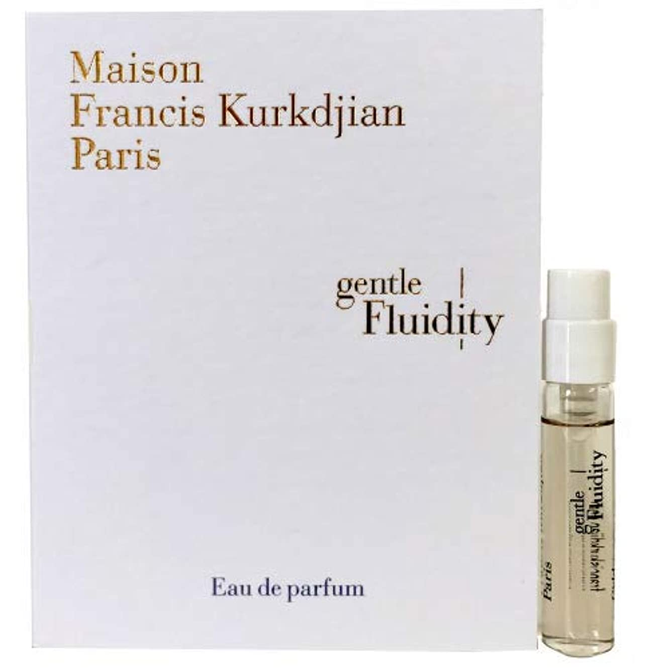コウモリモック道を作るメゾン フランシス クルジャン ジェントル フルーイディティ ゴールド オードパルファン 2ml(Maison Francis Kurkdjian Gentle fluidity Gold EDP Vial Sample...