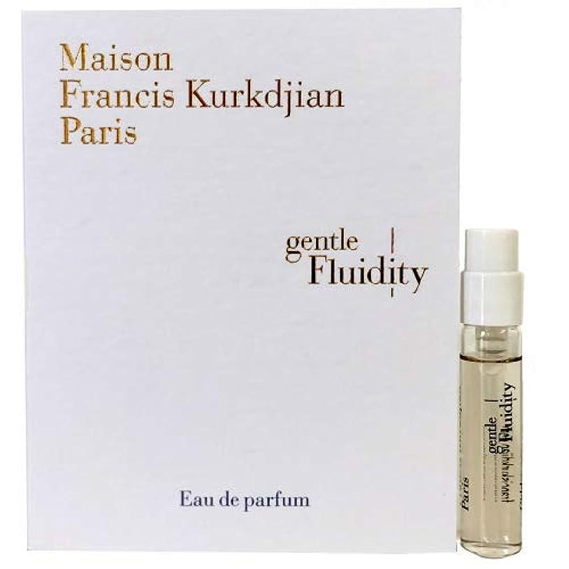うぬぼれたゼリー電気陽性メゾン フランシス クルジャン ジェントル フルーイディティ ゴールド オードパルファン 2ml(Maison Francis Kurkdjian Gentle fluidity Gold EDP Vial Sample...