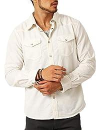 (アーケード) ARCADE メンズ 選べる2種類 ウェスタンシャツ コーデュロイ&フェイクスウェード 長袖 シャツ