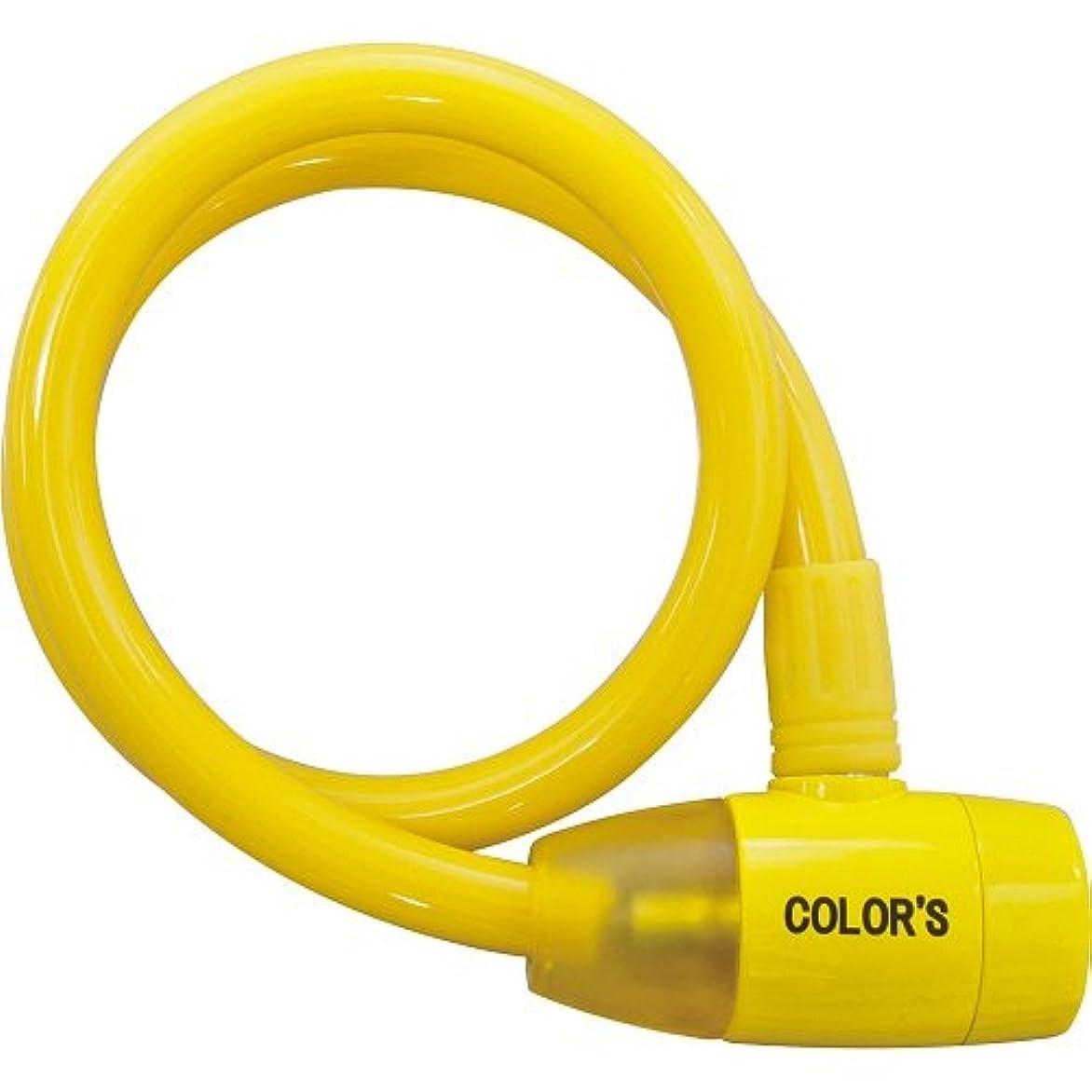 もヨーグルト常習的GORIN(ゴリン) G-220W カラーズディンプル [ワイヤーロック] シャーベットイエロー