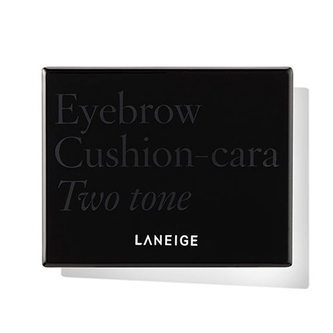 デッキ聴覚太字[New] LANEIGE Eyebrow Cushion-cara 6g/ラネージュ アイブロウ クッション カラ 6g (#2 Two Tone Brown) [並行輸入品]