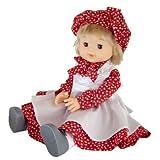 モンシェリ お人形 ロングスカート レッド・01808