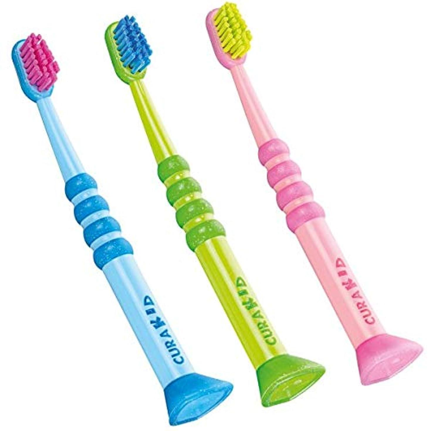 光沢のあるタイプ情熱的クラプロックス 歯ブラシ CK4260 クラキッズ
