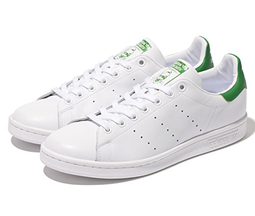 adidas(アディダス) スタンスミス M20324 Running White/Fairway(ホワイト×グリーン) 27.5cm