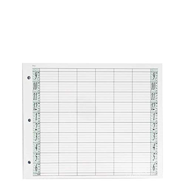 抗生物質パール居心地の良いアジェンダ サロンコンセプト ルーズリーフリフィル6色100枚LL6 / Z3[海外直送品] [並行輸入品]