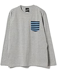 (ビームスティー) BEAMS T BEAMS T/Border Pocket Long Sleeve Tee 11140874823メンズ