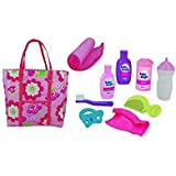 Baby Magic Doll Diaper Bag Gift Set - 10 Piece Accessory Play Set by Baby Magic