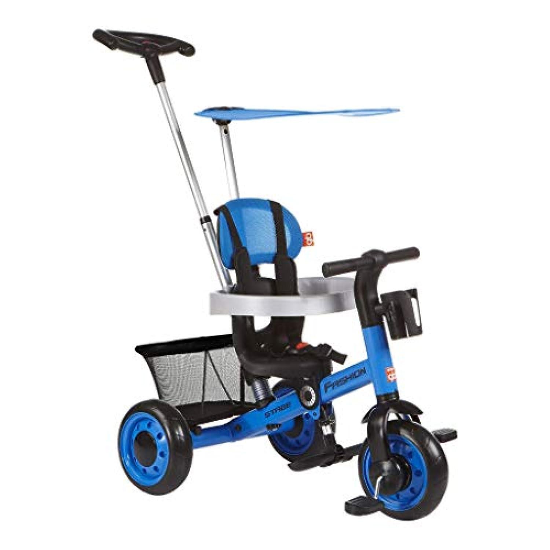 1-3歳の子供の三輪車ハンドプッシュ三輪車ペダル三輪車 ( Color : 1 )