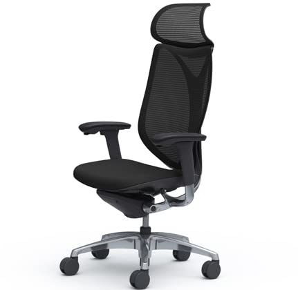 オカムラ サブリナ オフィスチェア スマートオペレーション エクストラハイバック ブラックフレーム ブラック C885BR-FSY1