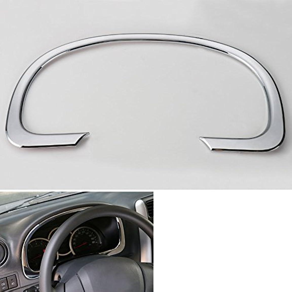 誇張するすごい部分Jicorzo - Center Instrument Dashboard Cover Trim Interior Car Styling Sticker Chrome ABS Decoration Accessories...