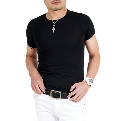 【サンタリート】 Santareet 伸縮性抜群 ストレッチ素材 吸収速乾 半袖 Tシャツ 2枚セット
