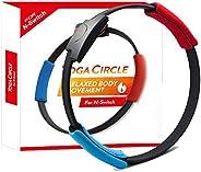 DOBE Switch Game Fitness Ring Adventure NS Ring Fit Somatosensory Sports Game Yoga Fitness Ring + Leg Straps,