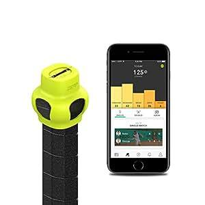 【日本正規代理店品・保証付】Zepp テニス 2 スイングセンサー(Zepp Tennis 2 Swing Analyser) 3Dモーションセンサー、テニススイング分析、MFi準拠 ZEP-BT-000005