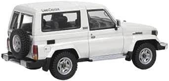 Hi Story 1/43 Toyota Landcruiser 70 VAN 2Door ZX (1990) ホワイト 完成品