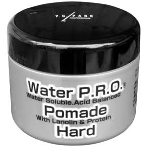 【ウォータープロ ポマードハード 120g】水性ポマード最強の固まらない硬さ!ヘアメイク御用達「島田陽次さん完全手作り」