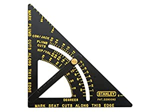 Stanley 46-053 Premium Adjustable Quick Square Layout Tool by Stanley
