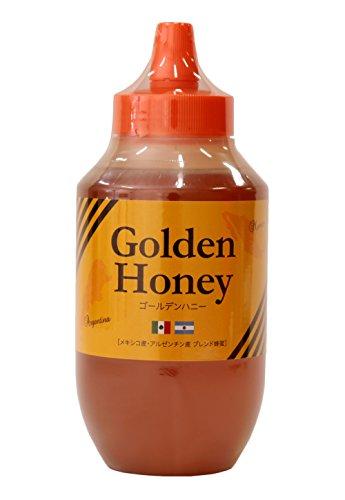 はちみつ 専門店 【かの蜂】 ゴールデンハニー 1kg ブレンド 純粋蜂蜜 (メキシコ・アルゼンチン産)