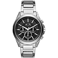 Armani Exchange AX2600 Silver-Tone Stainless Steel Watch